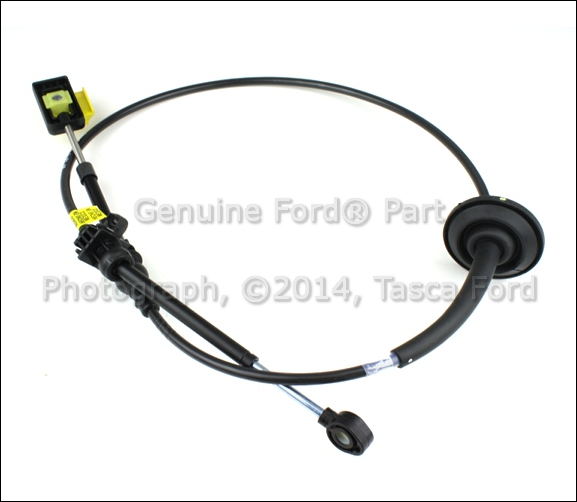 install shift cable on a 2003 ford e series