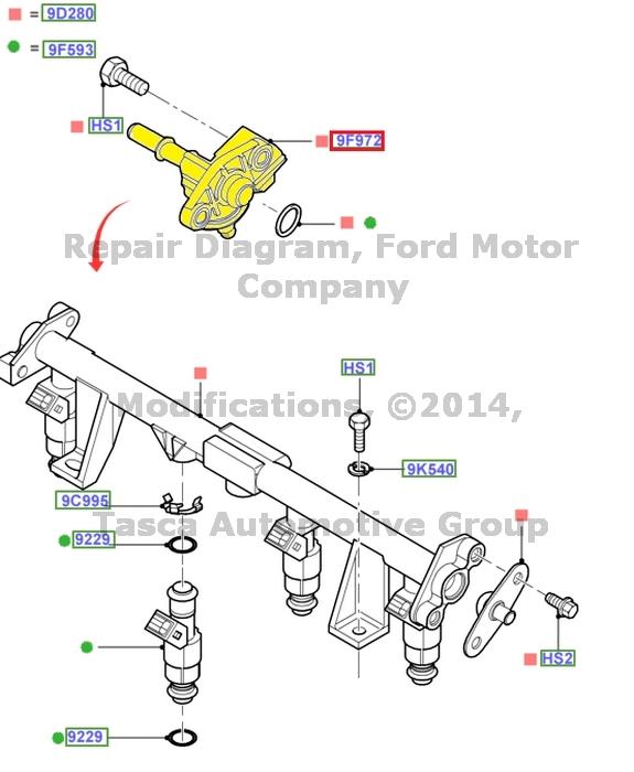 Ford 2001 Ford Focus Fuel Pressure Sensor Ebay Html Autos Weblog