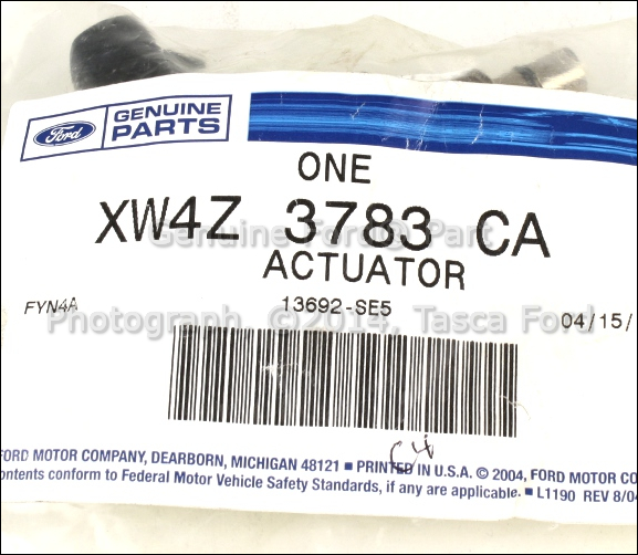 new oem hydraulic fan pump actuator 2000 2002 lincoln ls