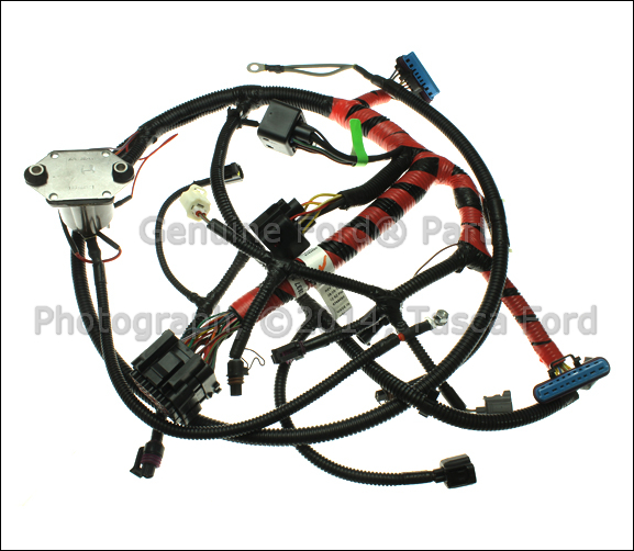 new oem glow plug wiring harness 2000 2003 ford 350 e450. Black Bedroom Furniture Sets. Home Design Ideas