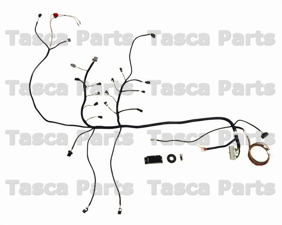 new ford racing fuel injection multiport efi wire harness. Black Bedroom Furniture Sets. Home Design Ideas