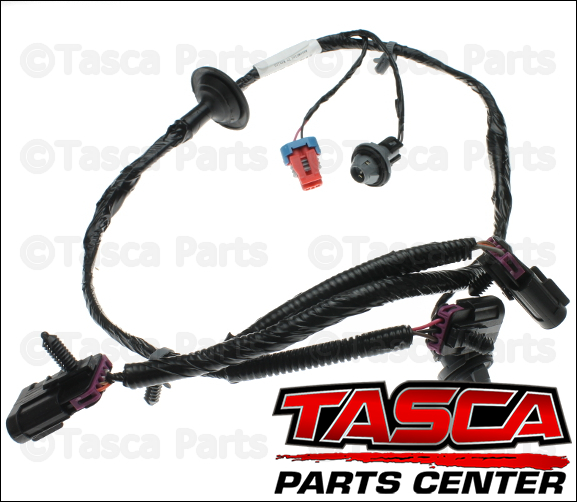 0 new oem gm rear license plate light wiring harness avalanche Audi A4 B7 License Plate Light Wiring at bayanpartner.co