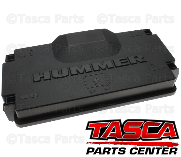 new oem gm fuse block compartment upper cover 2007-2008 ... hummer h3 fuse box cover
