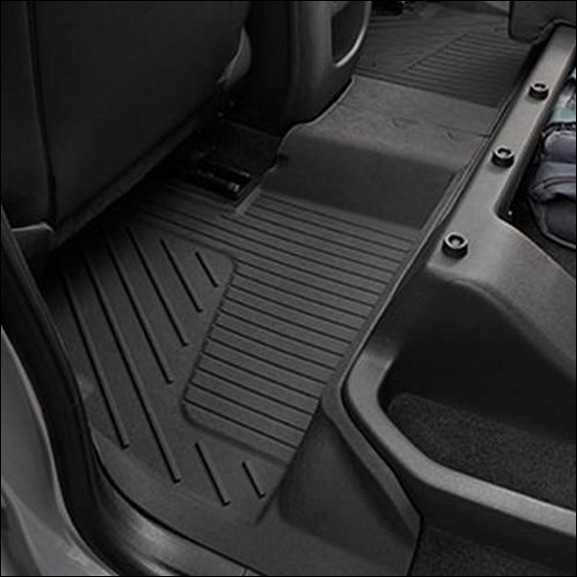 2015 2019 Gmc Canyon Extended Cab Gm Front Rear All: NEW GENUINE OEM GM ACCESSORY REAR ALL-WEATHER FLOOR MATS