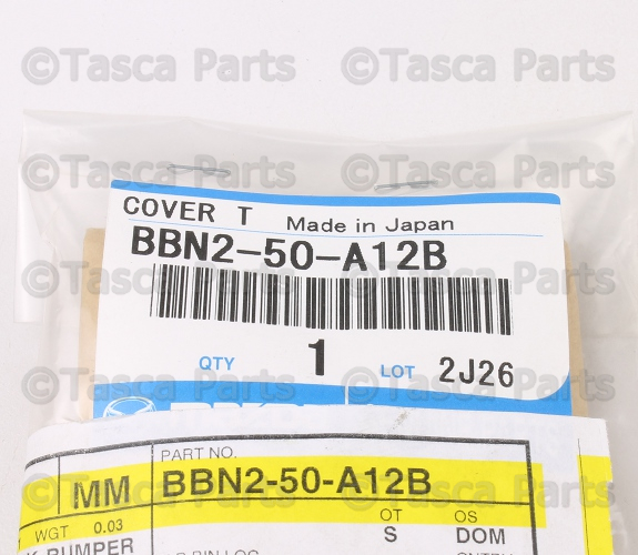BRAND NEW OEM FRONT BUMPER TOWING HOOK COVER 2.5L 2010-11 MAZDA 3 #BBN2-50-A12B