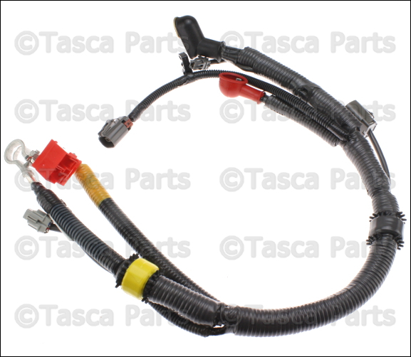 new oem engine battery cable wiring harness 1996 02 nissan pathfinder wagon
