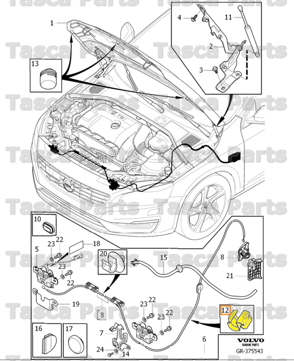 Taurus Revolver Exploded Diagram also Generic car cutaway in addition Chevy Ballast Resistor Wiring Diagram additionally 2010 Jaguar Xf Battery Location besides Volvo S80 Hood Release Location. on tesla wiring diagram