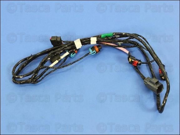 Oem Mopar Front Fascia Bumper Wiring Harness Chrysler 300
