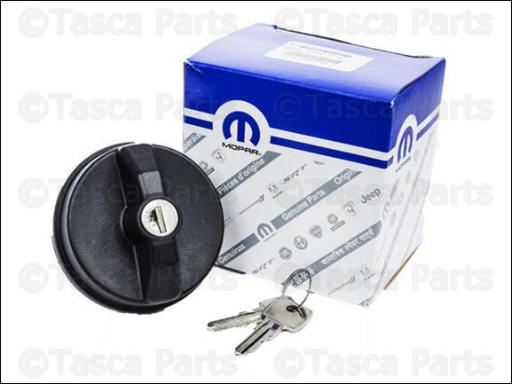 OEM-Locking-Fuel-Tapon-2001-2013-Dodge-Chrysler-Jeep-vehiculos-5278655AB miniatura 9