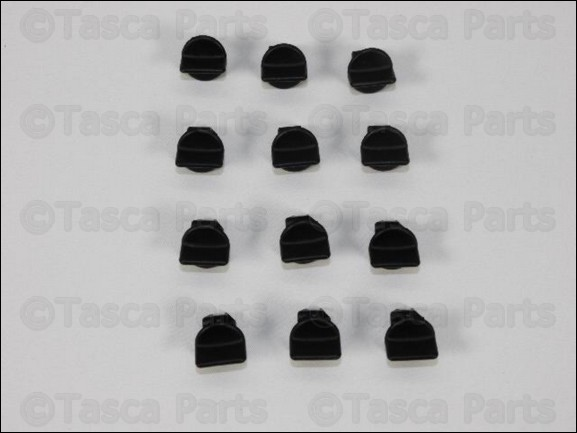 BRAND NEW OEM MOPAR 12 PACK FRESH AIR DUCT MOUNTING PINS COMPASS PATRIOT CALIBER
