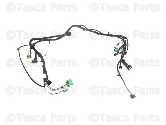 New Oem Mopar Headlight Wiring Harness 2014 Jeep Wrangler 4wd 3 6l