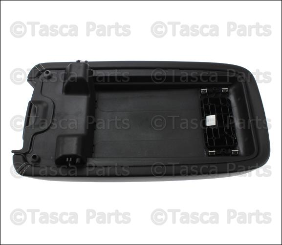 New Oem Mopar Floor Console Armrest 2011 2012 2014 Dodge Charger 1vt061dbaf Ebay