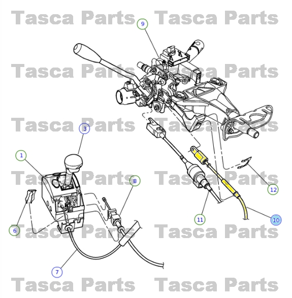 Service Manual  How To Adjust Transmission Linkage 1996