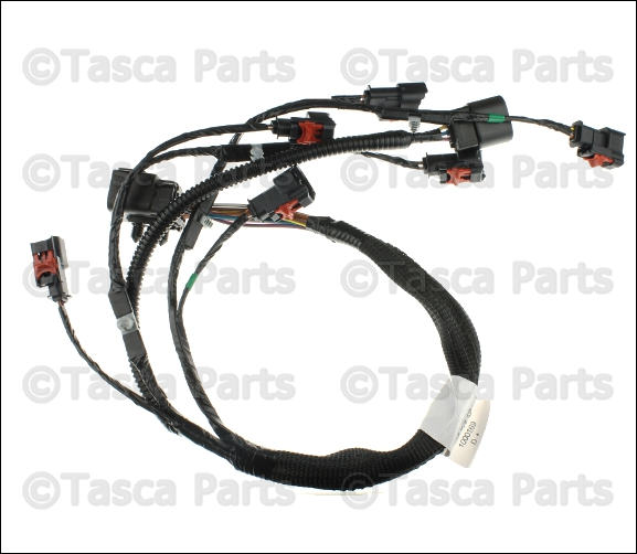 new oem mopar fuel rail wiring harness dodge caravan chrysler town rh ebay com