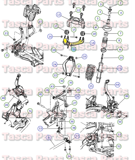 image is loading oem-front-or-rear-upper-control-arm-ball-