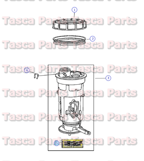 new oem mopar fuel filter 2000 2002 dodge ram 2005 dodge. Black Bedroom Furniture Sets. Home Design Ideas