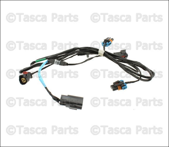chrysler oem 5059136ab fog lamps front wire harness ebay rh ebay com fog light wiring harness 2013 murano fog light wiring harness 2007 tahoe