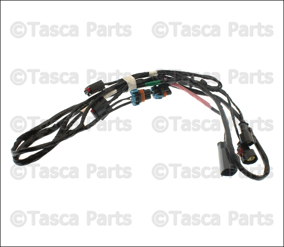 0 oem mopar front fascia bumper wiring harness chrysler 300 dodge 59 magnum wiring harness at eliteediting.co