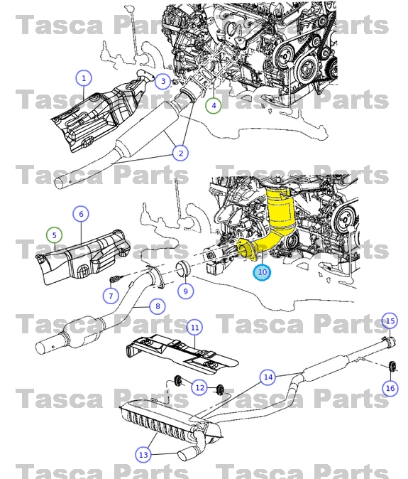 dodge caliber 2 0 exhaust manifold diagram  dodge  auto