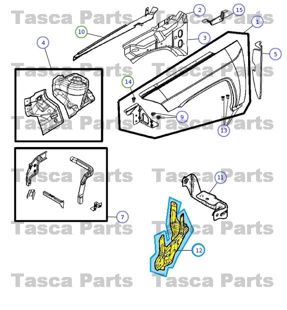 BRAND-NEW-OEM-MOPAR-POWER-DISTRIBUTION-CENTER-BRACKET-CALIBER-COMPASS-PATRIOT miniature 3
