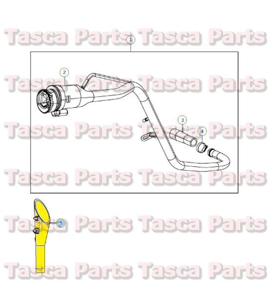 4 05-09 Chrysler 2.4L W//O Turbo ONLY NEW OEM Mopar 4891573AB Fuel Injectors