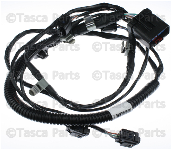 1 new oem mopar rear park assist wiring harness 2005 2009 jeep grand jeep jk oem dash wiring harness at panicattacktreatment.co