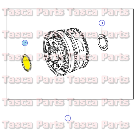 Genuine GM Parts 15548662 Passenger Side Rear Bumper Bracket Genuine General Motors Parts