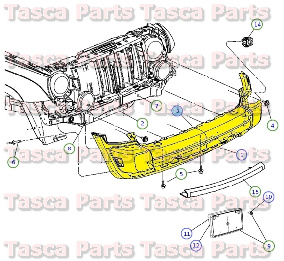 New Oem Mopar Front Bumper Energy Absorber 20052007 Jeep Liberty. New Oem Mopar Front Bumper Energy Absorber 20052007 Jeep Liberty 55156758af. Jeep. 2005 Jeep Liberty Front Frame Diagram At Scoala.co
