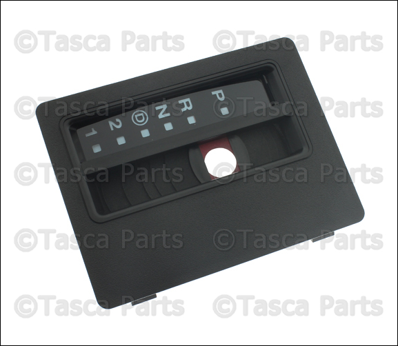 oem automatic transmission gear shift indicator bezel 1997. Black Bedroom Furniture Sets. Home Design Ideas