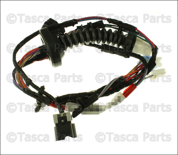 0 new oem mopar rh lh rear door wiring harness 2002 03 dodge ram 2002 dodge ram 1500 rear door wiring harness at gsmportal.co