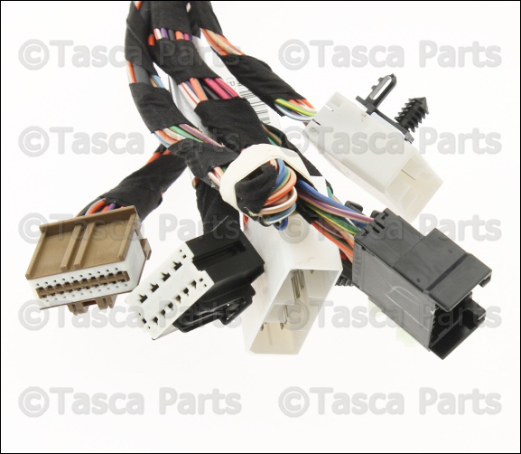 Wiring Harness Jeep Commander : New oem mopar lh front door switches wiring harness