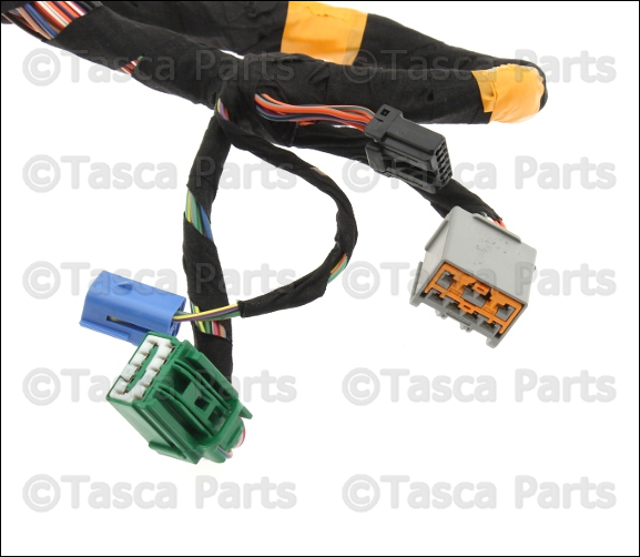 Wiring Harness For Jeep Commander : New oem mopar lh front door switches wiring harness
