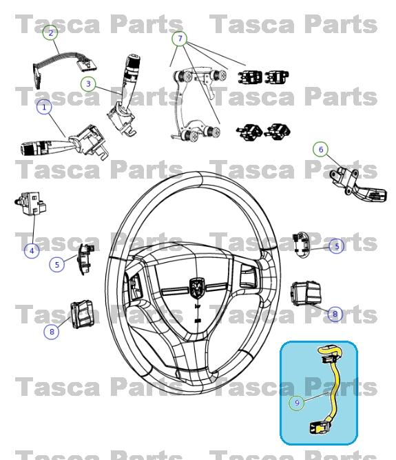 New Oem Steering Wheel Wiring Harness 2008