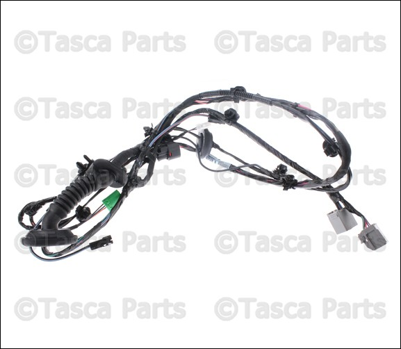 new oem mopar lift gate wiring harness 2009
