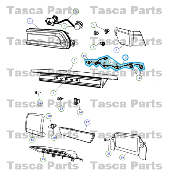 2010 Dodge Challenger Tail Light Wiring Diagram