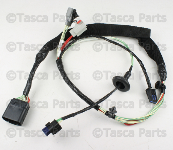 oem mopar rh front door panel wiring harness 2011-2013 ... 2015 jeep jk wiring diagram jeep jk wiring harness