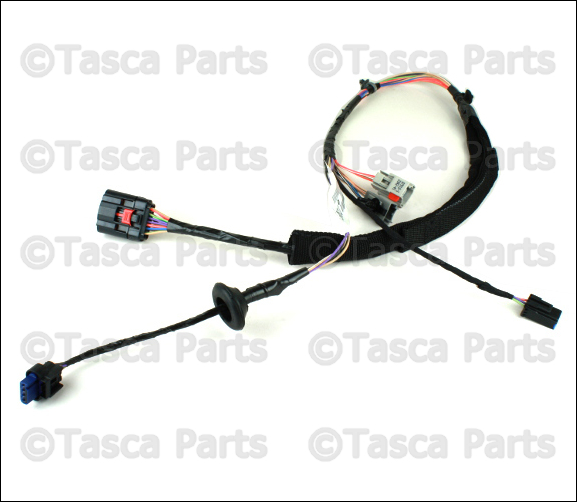 0 oem mopar lh front door panel wiring harness 2011 2013 jeep 2015 jeep wrangler door wiring harness at fashall.co