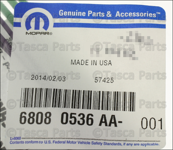 2 new oem mopar ac vacuum switch 3 way wiring harness 1999 2004 jeep  at panicattacktreatment.co