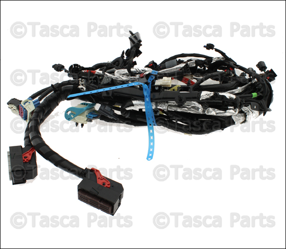 0 new oem mopar engine wiring harness dodge caravan chrysler town 2001 chrysler town and country engine wiring harness at creativeand.co
