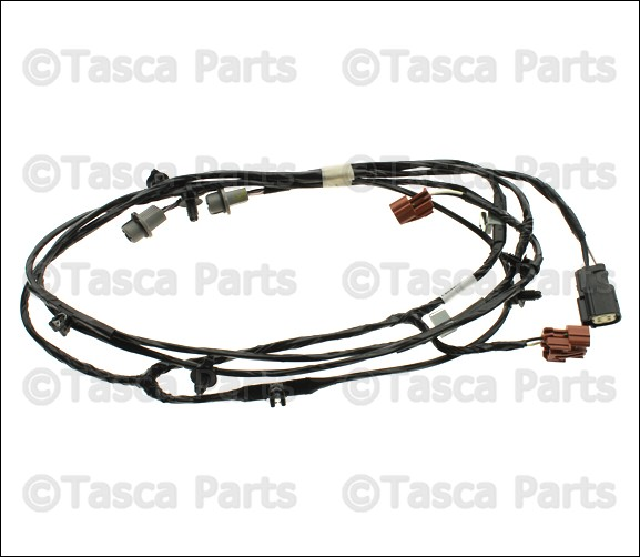 brand new oem mopar front lamp wiring harness 11 14 dodge challenger rh ebay com dodge ram oem wiring harness Dodge Ramcharger Wiring Harness