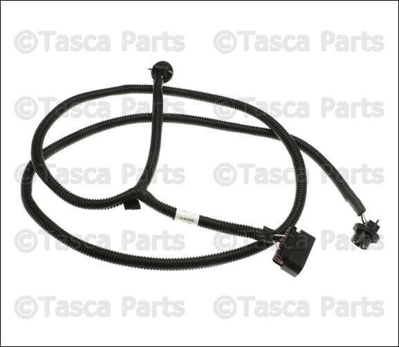 new oem mopar rear bumper wiring harness 2014 15 jeep. Black Bedroom Furniture Sets. Home Design Ideas
