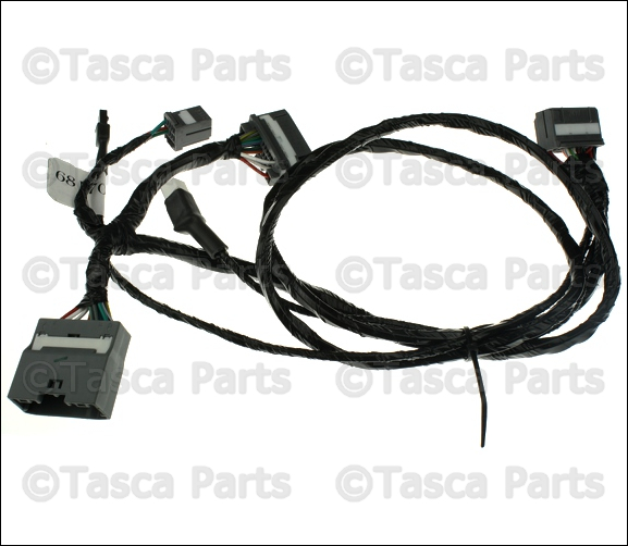 New oem mopar hands free kit wiring harness dodge
