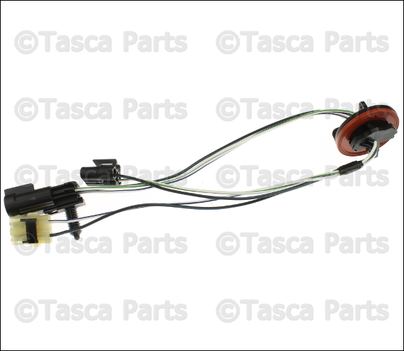 new oem mopar headlight wiring harness 2009