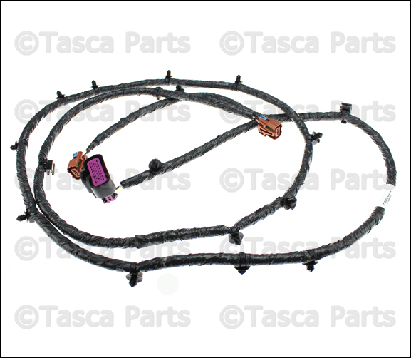 New oem mopar front fasica wiring harness  jeep