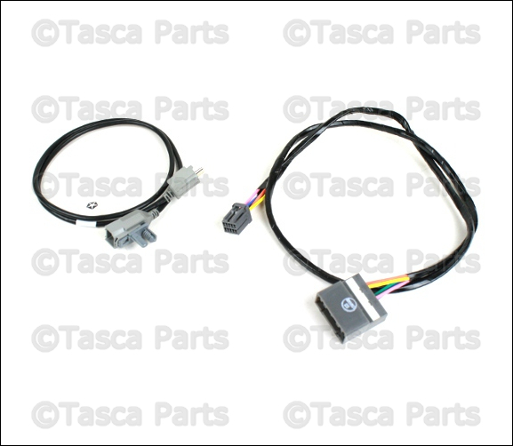 oem uconnect bluetooth wiring harness 2011-2013 dodge ... 2013 jeep wrangler speaker wiring diagram
