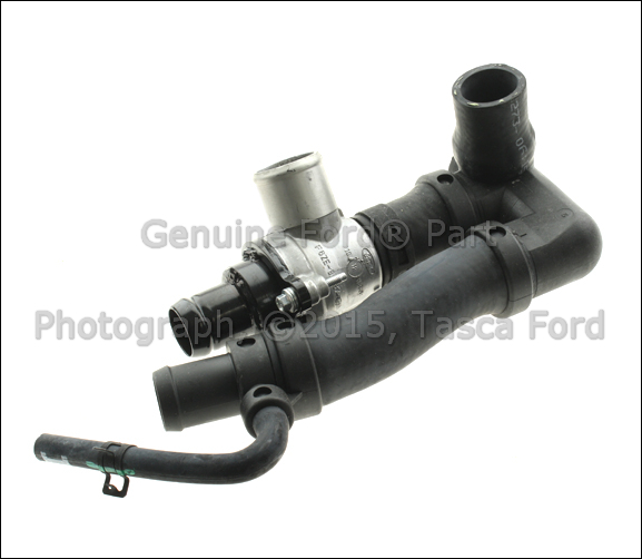 on 2002 Ford Taurus Cooling System