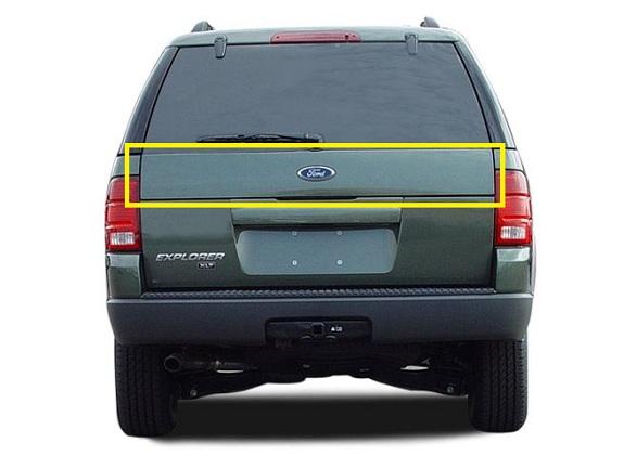 New Oem Rear Applique Panel Moulding 2002 05 Ford Explorer 1l2z 78402a30 Captm Ebay