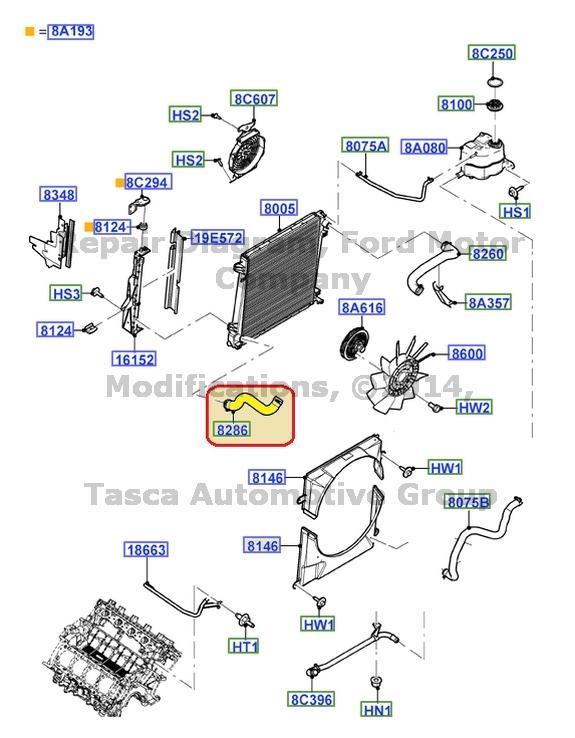 32 2002 Ford Explorer Heater Hose Diagram