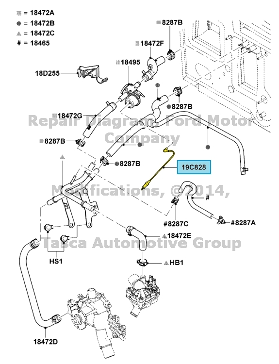 2002 ford ranger temperature sensor location