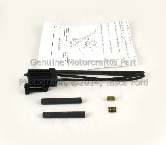 NEW OEM AUXILIARY Heater/ac Blower Motor Wiring Harness Ford Mercury Ac Blower Motor Wiring on